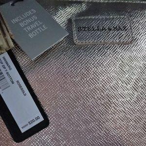 Stella & Max Top Zip T-Bottom Cosmetics Case